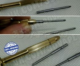 Screwdriver / rim brass + 2 bits (2.5 + 3 mm)